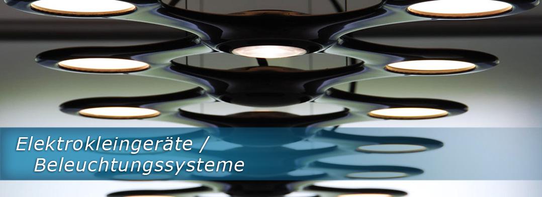 Elektrokleingeräte/ Beleuchtungssysteme